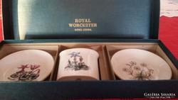 Royal Worcester tálka, gyűrűtartó gyönyörű