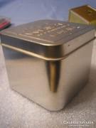 N3 Fém Casio nagy óradoboz ritka 7.5 x 8.5 cm