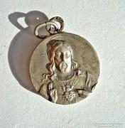 Jézus, Szűz Mária ezüst medál