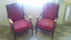 Nagyon Szép Korai Neobarokk fotelok Párban