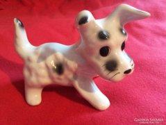 Porcelán kutya - Bodrogkeresztúri kerámia