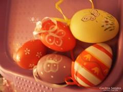Retro dekor tojások