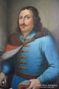 Festmény Hunyadi Jánosról