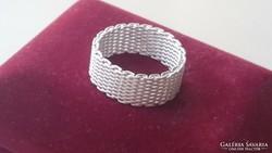 Ezüst fonott gyűrű 925.