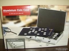 Aluminium érmetartó koffer