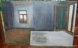 Ismeretlen Orosz festő. 70x100 cm