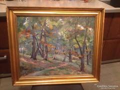 Holba Tivadar szép festménye eladó