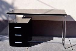 Csővázas bauhaus íróasztal