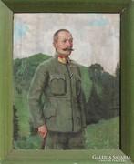 Vidovszky Béla: I.Világháborús katonatiszt portréja