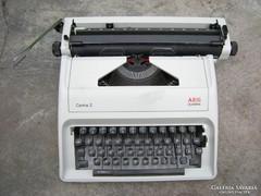 Retro AEG Olympia írógép mechanikus szalagos