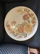Zsolnay nagy méretű fali tál luxus aranyozással-40.5 cm