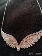 925-ezüst angyalszárny nyaklánc