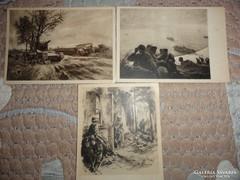 Háborus képeslapok