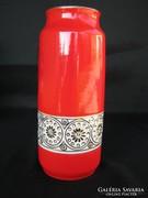 Retro Hollóházi porcelán váza