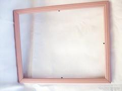 Rózsaszín képkeret