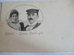 Lónyay Elemér gróf és Stefánia