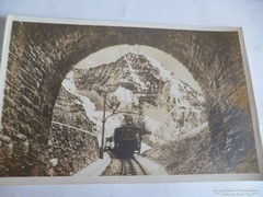 Jungfraubahn képeslapon