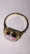 14K arany  Opál köves gyűrű