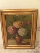 Vígh Bertalan olaj festmény jelzett 49X 39 cm