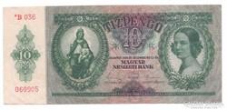 10 Pengő 1936 Csillagos  Bomba jó áron!!!