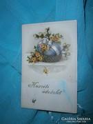 Antik húsvéti képeslap 1920 év