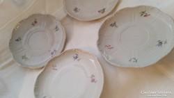 4db Zsolnay kis tányér potlásnak teás tányér