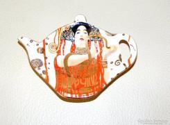 Gustav Klimt teafilter tartó