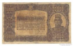 25000 korona 1923 II.