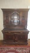 Antik ónémet gyönyörű tálaló szekrény