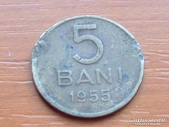 ROMÁNIA 5 BANI 1955
