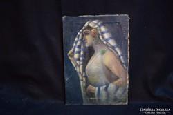 Leány portré, 1900-as évek eleje (gs0464)