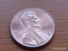 USA 1 CENT 1992 / D