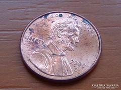 USA 1 CENT 2000 / D