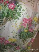 Csodaszép luxus vintage tavaszi virágos függöny 2 db