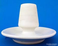 Antik porcelán kávéházi gyufatartó vagy  gyertyatartó