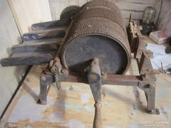 Ipari emlék '50-s évek Gyapjú kártoló gép