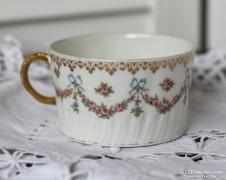 GDA Limoges francia szecessziós porcelán teás csésze