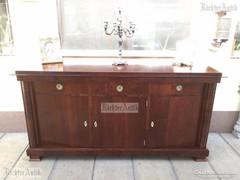 Antik bútor, Biedermeier komód felújított 04.