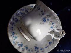 Royal Albert kék-nefelejcses KÁVÉS szett