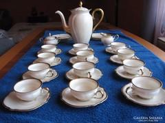 Antik porcelán készlet (Rosenthal-Kronach-Viktória)