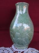 Magy. Márvány mintás hollóházi váza 11 cm