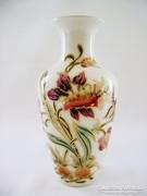 Gyönyörű Zsolnay Orchideás váza. Hibátlan!