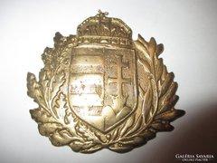 Magyar címer-réz dísztárgy