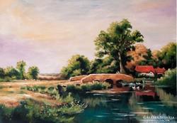 Patakparton Festmény