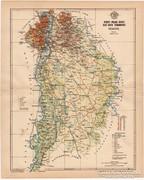 Pest - Pilis - Solt - Kis-Kun vármegye térkép 1896, régi