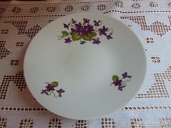 Ibolya mintás tányér