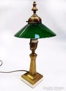 Antik, restaurált asztali lámpa
