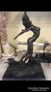 Monumentális Akt bronz szobor