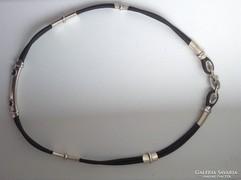 Kaucsuk ezüst Barakka nyaklánc