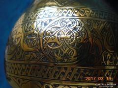 MAMLUK-iszlám-aranyozott-kalligrafikus-nielló-díszes-karaffa